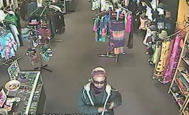 Colonie police looking for suspect in Deja Vu robbery