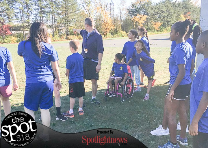 Rolling along: Wheelchair-bound 10-year-old a member of Menands' cross-country team