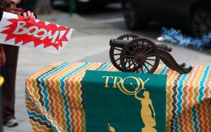 Cannon blast tradition will start Troy holiday season with a bang