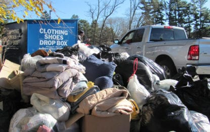 Bethlehem thanks community for successful textile recycling event, more than 11 tons of material collected in three hours