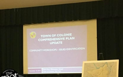 Colonie Comprehensive Plan Committee receives initial feedback