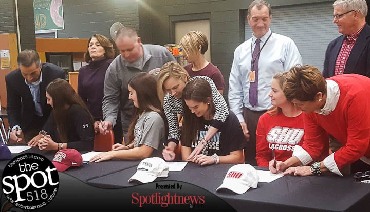 Four Bethlehem athletes sign National Letters of Intent November 15 (with photo gallery)