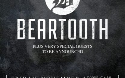 HOT SPOT: Beartooth at Upstate Concert Hall