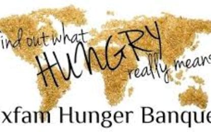 Oxfam Hunger Awareness Banquet hosted by BCHS Key Club to demonstrate food inequality
