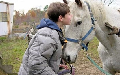 Parents: Jonathan Carey is 'Riding a White Horse in Heaven'