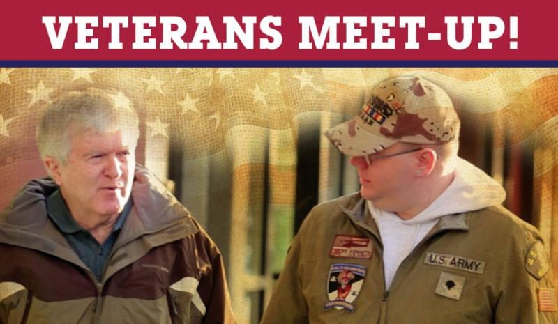 Veteran Meet-Up @ Saratoga Coffee Traders