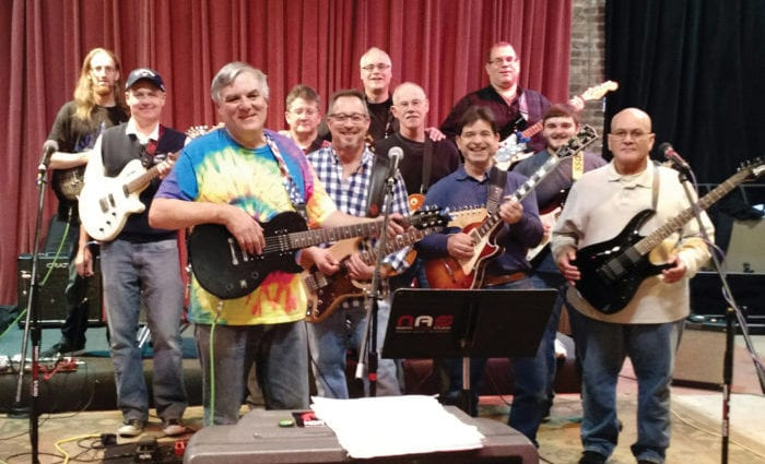 Never too old to rock: Don Warren's adult students jam together to learn while having fun