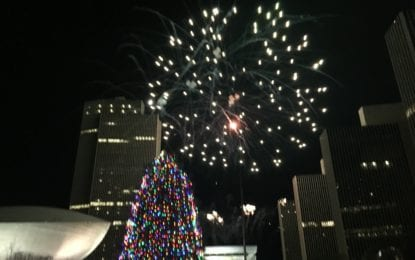 Albany embraces the holiday spirit with annual tree lighting