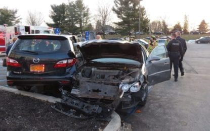 UPDATED- Multiple vehicles damaged in accident at Glenmont Plaza Friday, Dec. 23