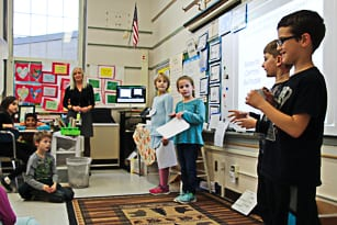 Third-graders invent, pitch products in Shark Tank-style competition