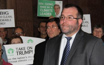 Albany Orgs Tell Cuomo to #TakeTrumpOn | Anti-Climate Federal Appointees Raise Local Concerns