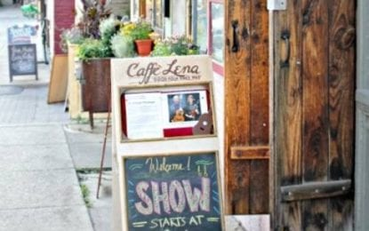 Caffé Lena re-opens with The Suitcase Junket Friday