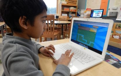Computer Science Education week at Bethlehem CSD elementary schools: Hamagrael teacher wins $4,300 makerspace package, Slingerlands students win innovation challenge at RPI, and all K-5 students learn computer programming basics