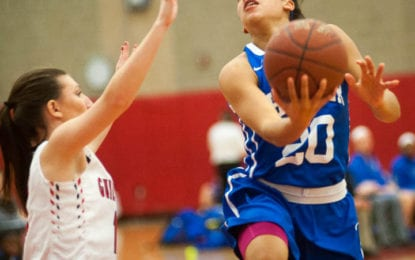 SPOTTED: Shaker girls beat Guilderland, 55-21