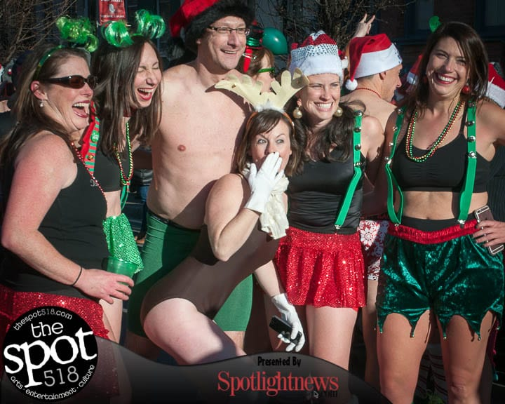 SPOTTED: The 11th Annual Santa Speedo Sprint