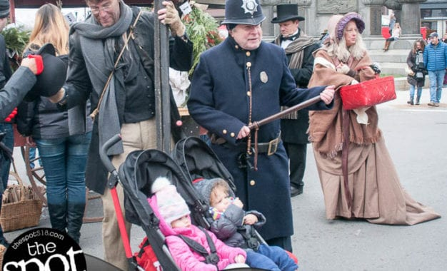 SPOTTED: Troy's Victorian Stroll