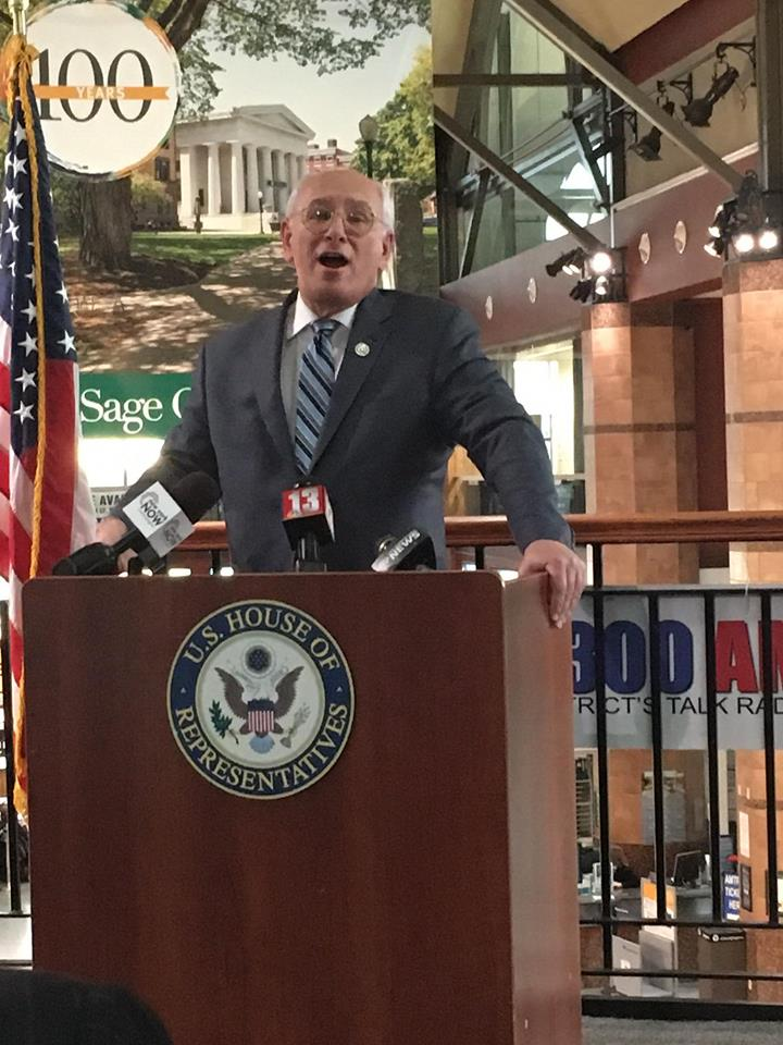 Rep. Paul Tonko sponsors legislation to defund ban on refugee travel