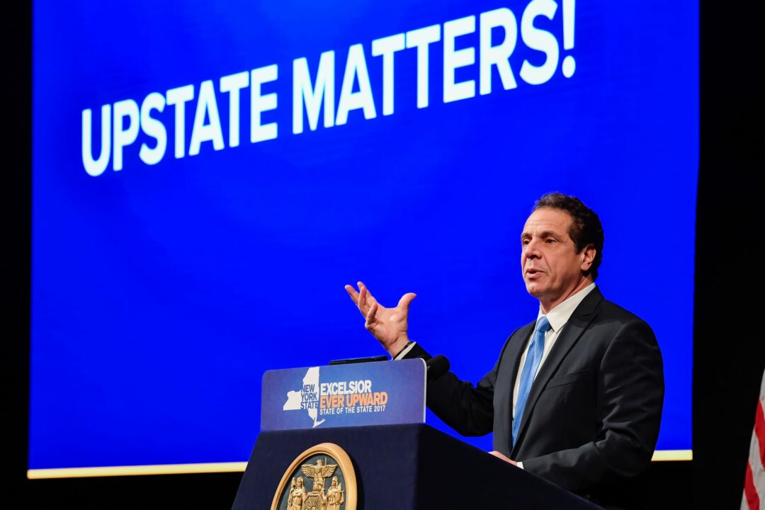 State-roots effort: Cuomo at odds with Trump's policies
