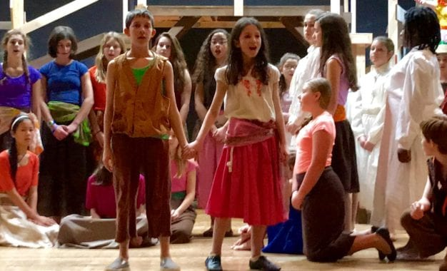 BCMS presents Once on This Island, Jr., Jan. 26-28