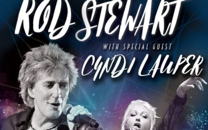 Rod Stewart and Cindi Lauper coming to SPAC this summer
