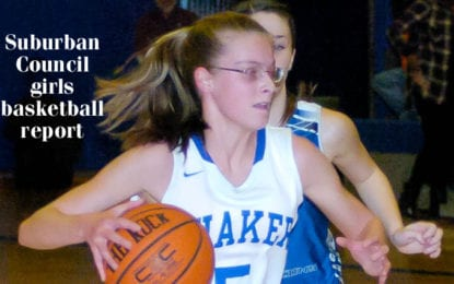 January 11 Suburban Council girls basketball report: Status quo as top teams win