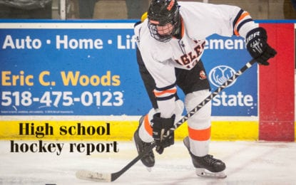 CDHSHL report: The race for playoff positioning heats up