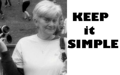 KEEP IT SIMPLE: Hi, I'm Debbie and I'm …