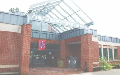 GUILDERLAND LIBRARY: Sonny & Perley's recording session
