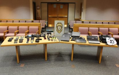 Colonie police are looking for the owners of stolen merchandise