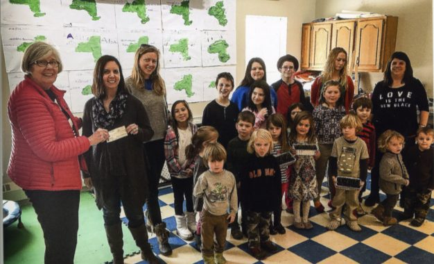 Bethlehem Garden Club grants Bethlehem Children's School $1,000 to maintain and upgrade nature trails
