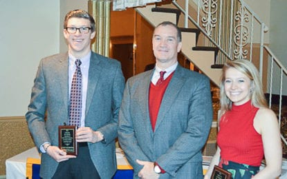 BHS students receive leadership award