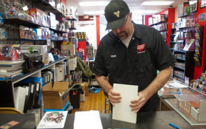 Comic book heroes: Artists join forces to help shop owner's family