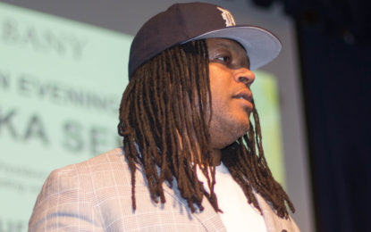 Shaka Senghor is a student of the classroom, and of the street, and is pushing for prison reform
