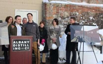 Award-winning Albany distillery announces million dollar downtown expansion