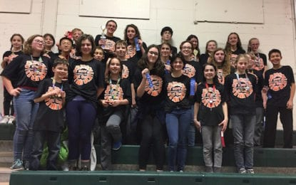 Two BCSD teams advance to state Odyssey of the Mind competition