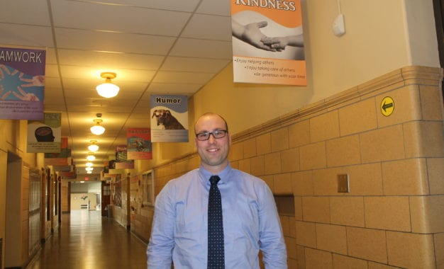 New Bethlehem HS principal talks about educating youth and his path to the principal's office