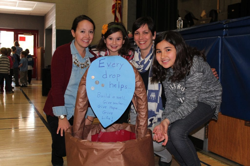 Slingerlands Elementary kicks off global outreach effort to help build well in Africa on World Water Day