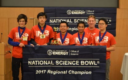 Bethlehem science bowl team wins regional tournament, will compete in D.C. in April