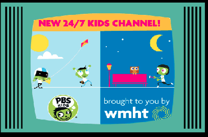 EDUCATION and ENTERTAINMENT: WMHT launches free 24/7 PBS Kids channel