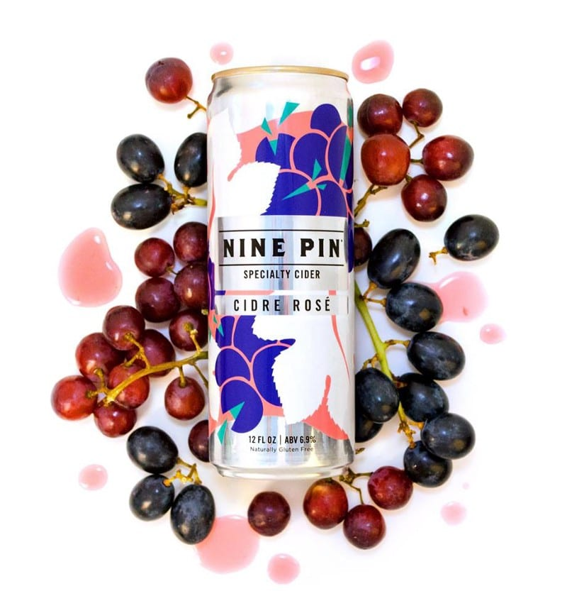 Nine Pin releases Cidre Rosé Can in collaboration with Capoccia Vineyards