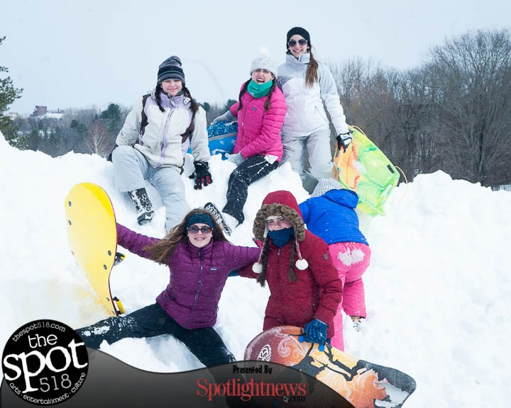 SPOTTED: Storm cleanup and fun in the snow