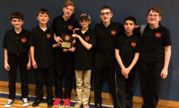 BCMS students place first and second at National History Bowl