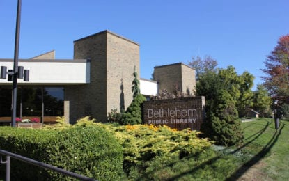 Bethlehem Public Library to present 2017-2018 budget proposal May 8