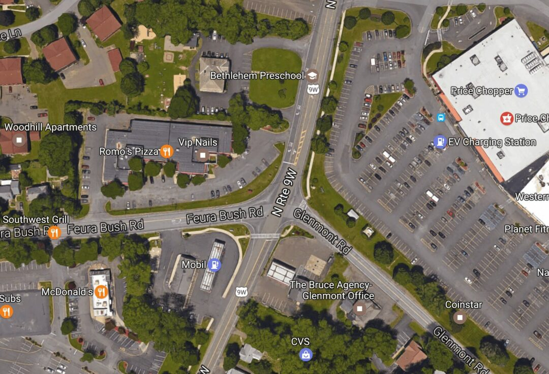 Capital Region awarded $13.1 million for bike, pedestrian, air quality projects | $3.9 million to improve the intersection of Route 9W, Feura Bush and Glenmont Roads in Bethlehem