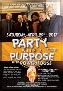 Party with a Purpose with Powerhouse @ Jupiter Hall @ Lucky Strike Social