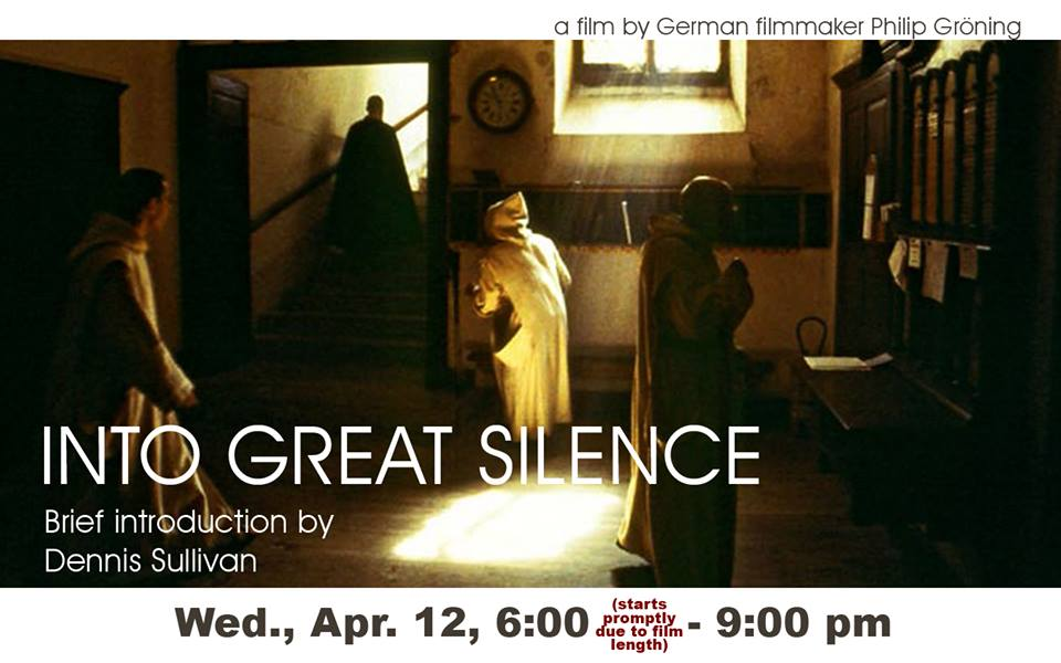'Into Great Silence' at Voorheesville Public Library