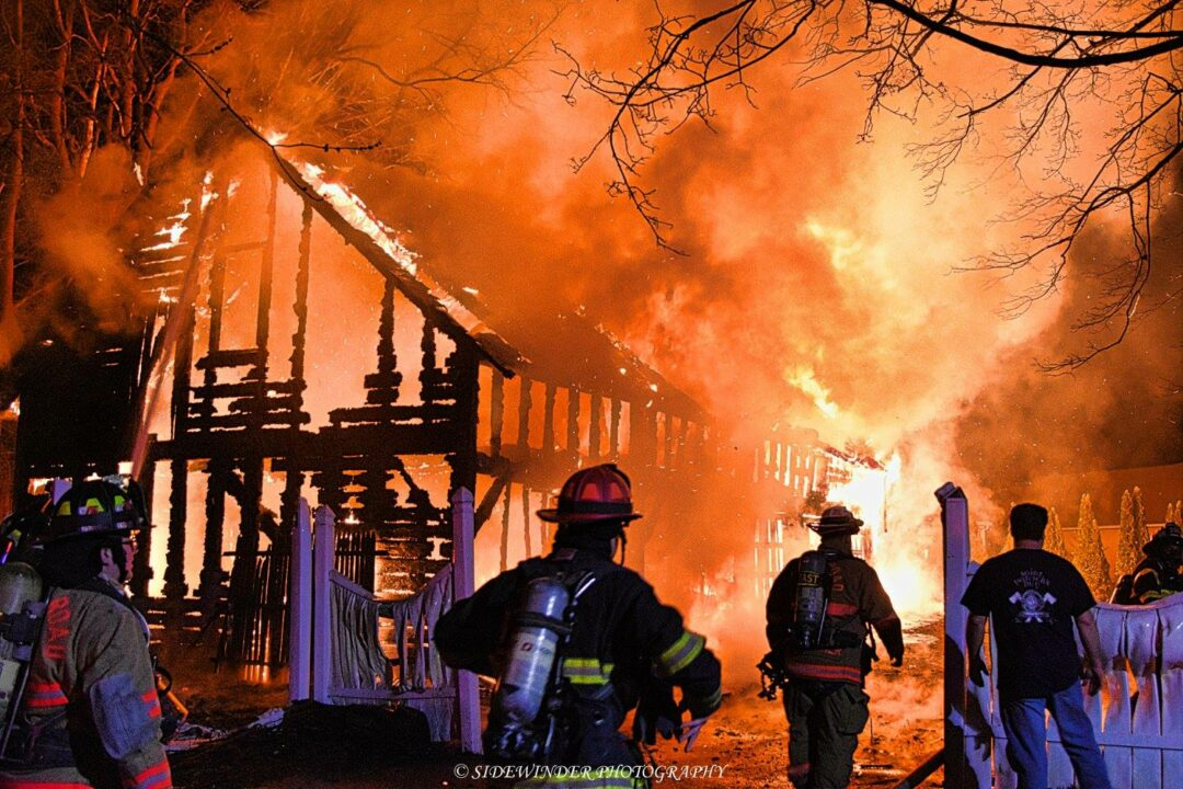 Large garage burns to the ground on Albany Shaker Road
