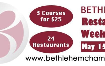 Bethlehem Restaurant Week 2017 | May 15 – 21