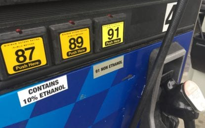 Gas prices drop slightly headed into the summer driving season
