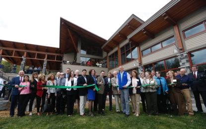 State Opens $4.3 Million Thacher Park Center